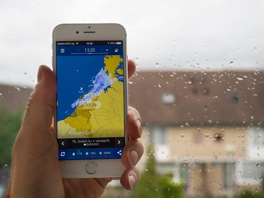 Buienradars en radarbeelden zijn ideaal voor wie van het weer afhankelijk is