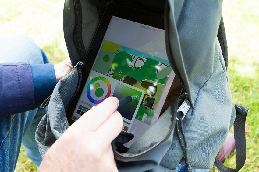 Kees Krick Media - iPad-kunstenaar Nico Kool