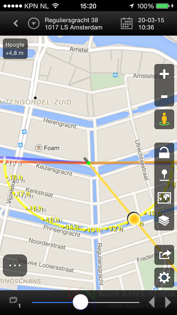 Zonsverduistering boven Amsterdam - door Kees Krick Media