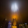 Lichtbundels virtuele Amsteltoren - door Kees Krick Media