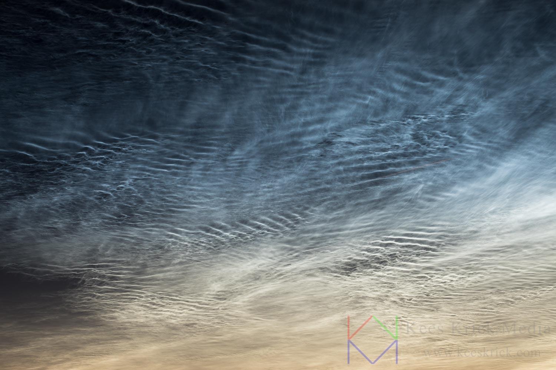 Lichtende nachtwolken zien en fotograferen - Kees Krick Media