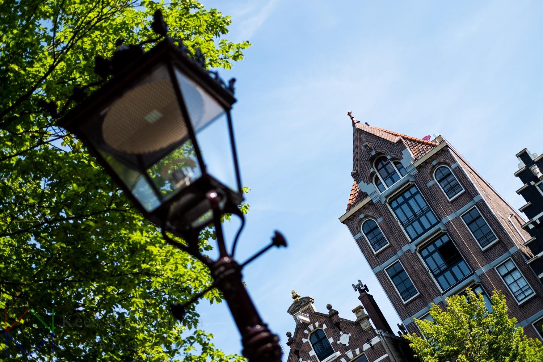 Amsterdam Herengracht Grachtenpand Lantaarn