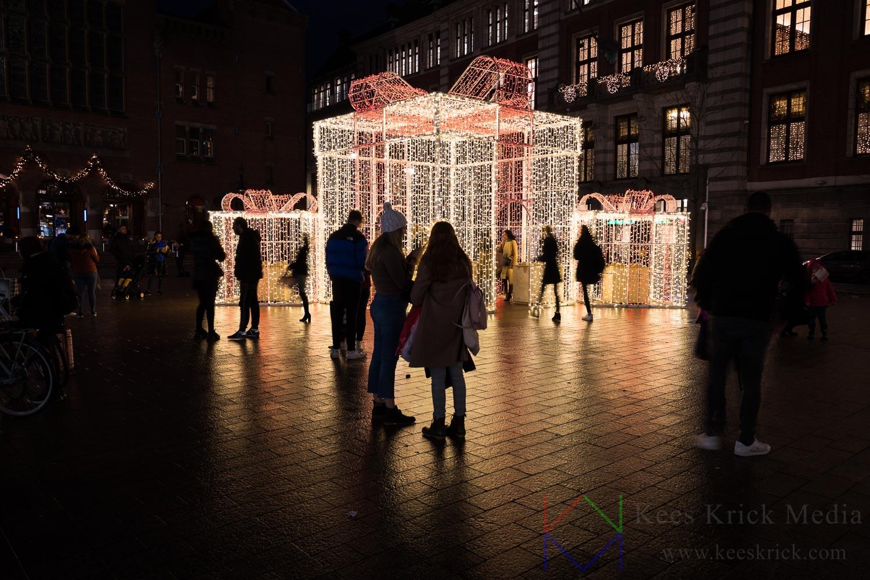 Amsterdam Beursplein Beurs van Berlage Kerst
