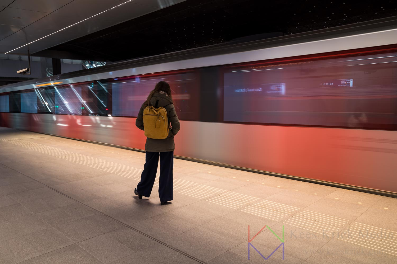Amsterdam Centraal Station Metro Noord Zuidlijn
