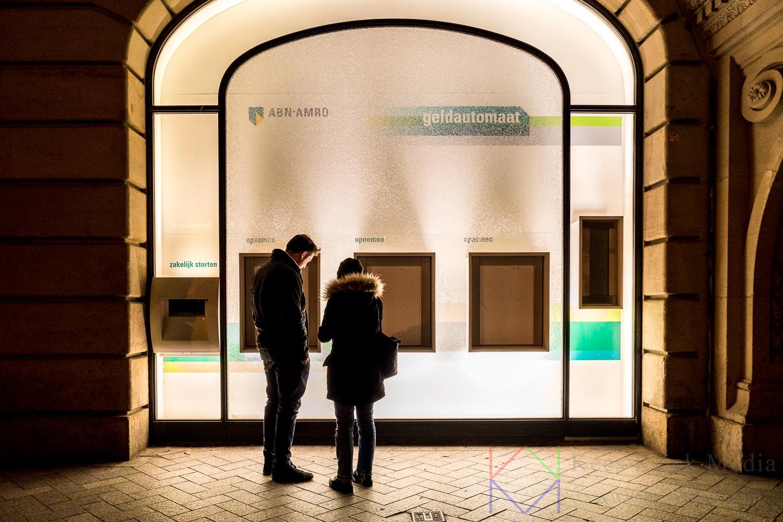 Amsterdam Leidseplein ABN AMRO Bank Geldautomaat