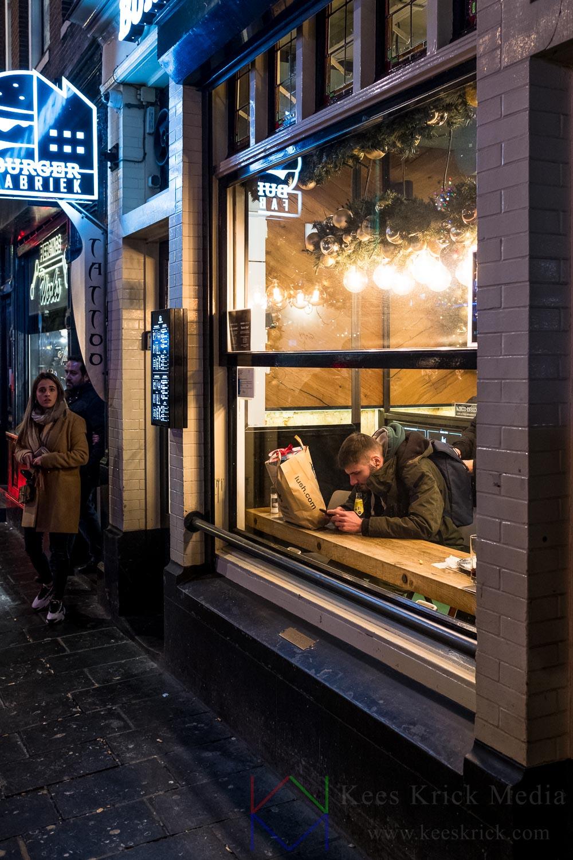 Amsterdam Rembrandtplein Burger Fabriek