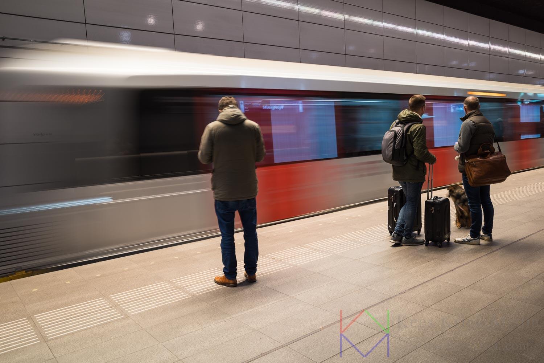 Amsterdam Vijzelgracht Station Metro Noord Zuidlijn