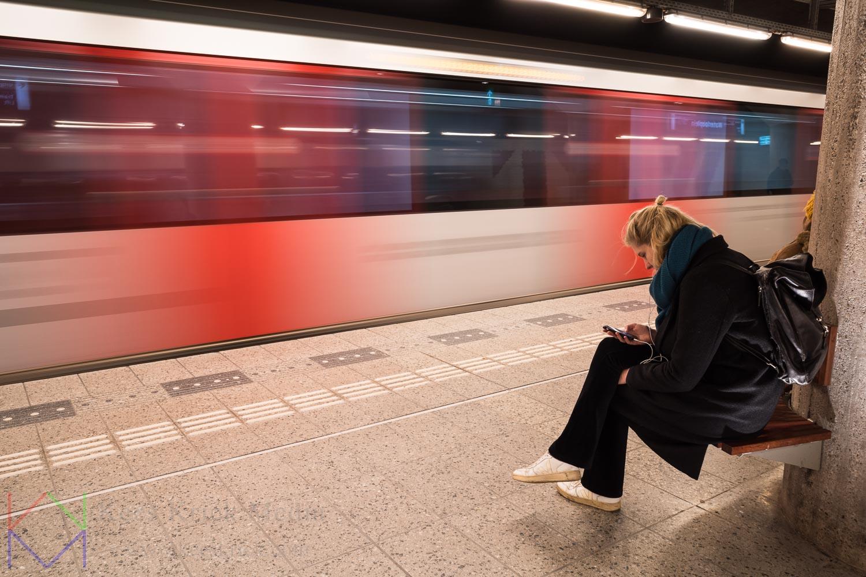 Amsterdam Waterlooplein Station Metro