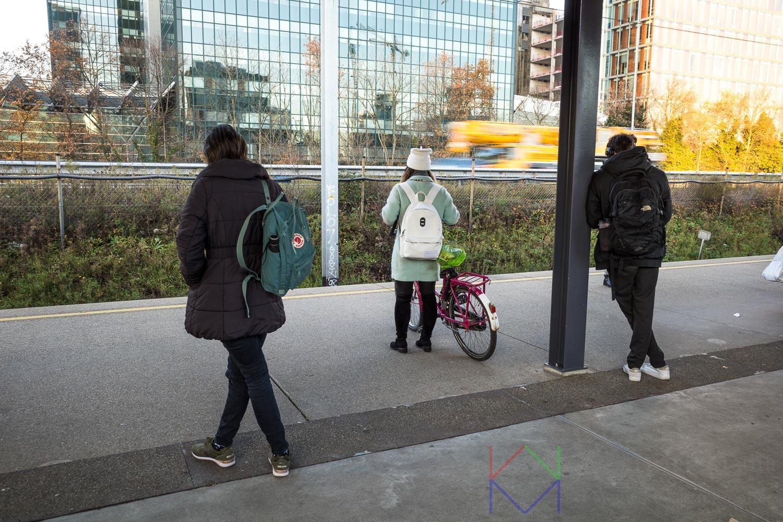 Amsterdam Zuid Metro Station Noord-Zuidlijn