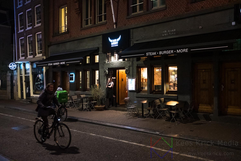 Amsterdam - Haarlemmerstraat - Roken & Eten