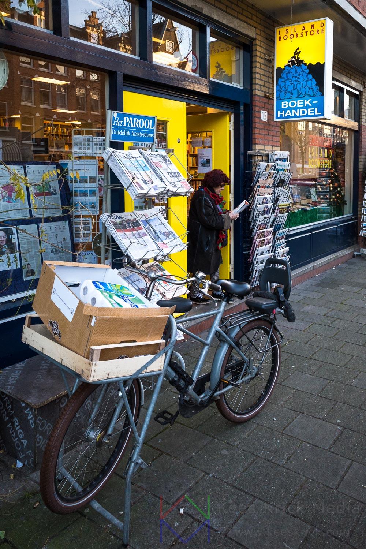 Amsterdam Jordaan Boekhandel Bladenwinkel