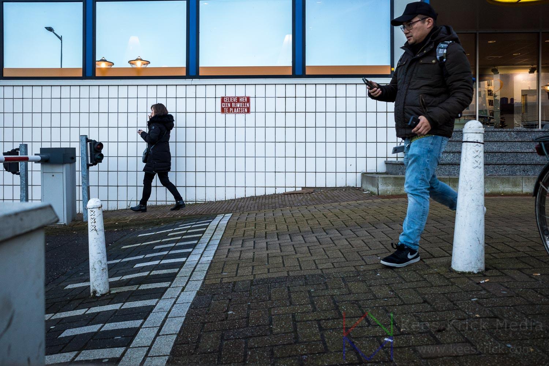 Amsterdam KVK Vrouw Man Telefoon Smartphone