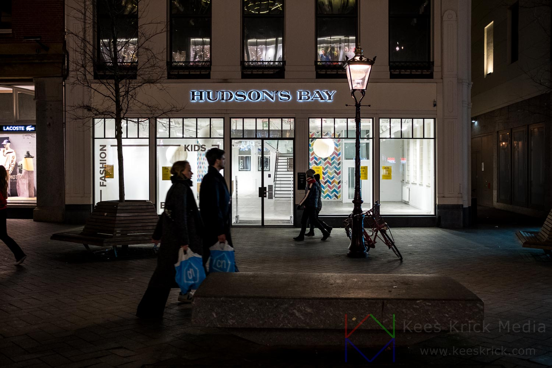 Amsterdam - Rokin - Hudson's Bay na faillissement