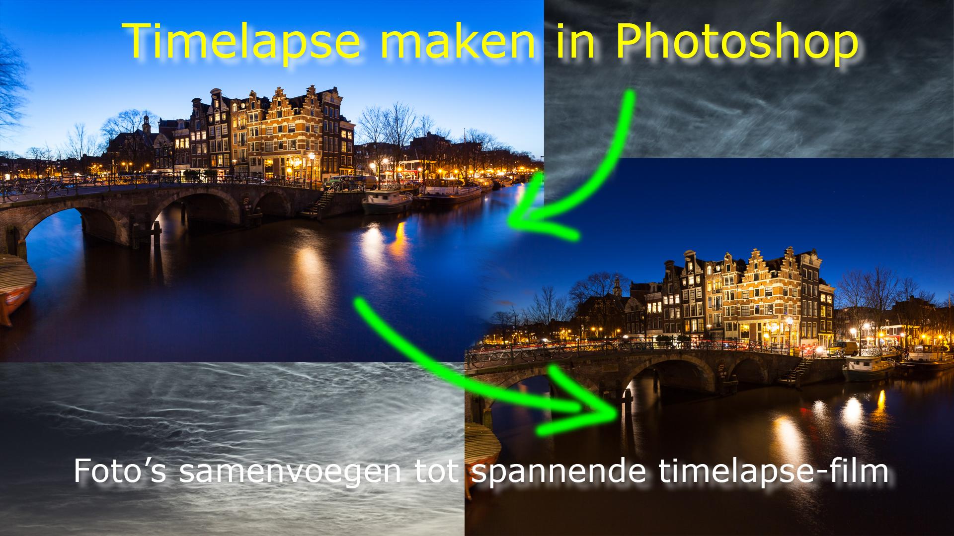 Timelapse maken in Photoshop