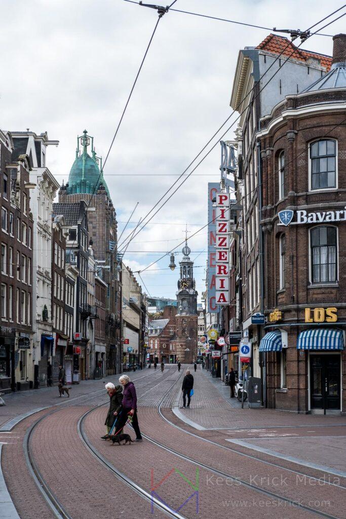 Amsterdam - Reguliersbreestraat - Muntplein - Munttoren
